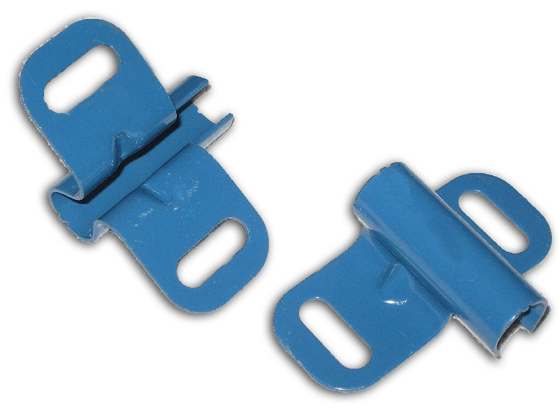 Replacement Axle Brackets (Pair) for 1 Wheel Jackson M-Series Wheelbarrow