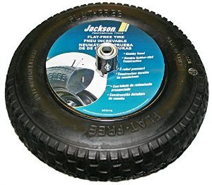 Replacement Wheel & Tire Assembly with Flat Free Knobby Tread